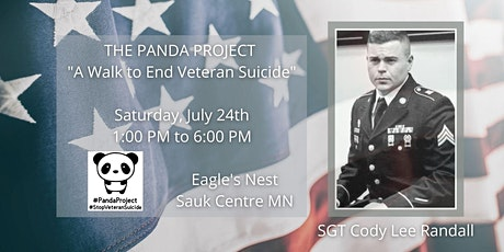 """THE PANDA PROJECT """"A Walk to End Veteran Suicide"""" tickets"""