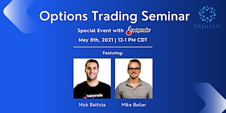 Options Trading Seminar - Special Event with tastytrade tickets