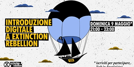 Introduzione digitale ad Extinction Rebellion tickets