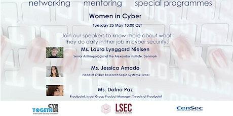 Women in Cyber : Denmark & Israel tickets