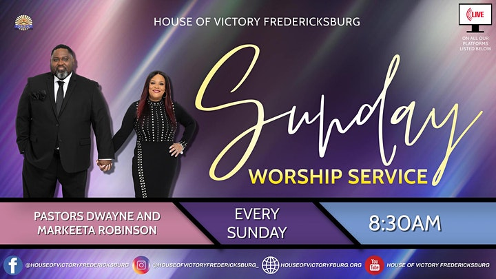 House of Victory Fredericksburg Church Worship Service image
