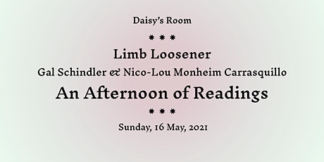 Limb Loosener: An Afternoon of Readings with Nico-Lou Monheim Carrasquillo tickets
