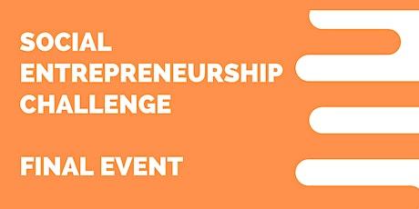 Social Entrepreneurship Challenge 2021 - Final event tickets