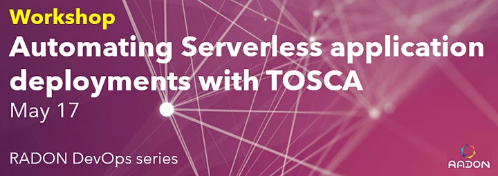 Automating serverless application deployment with TOSCA image