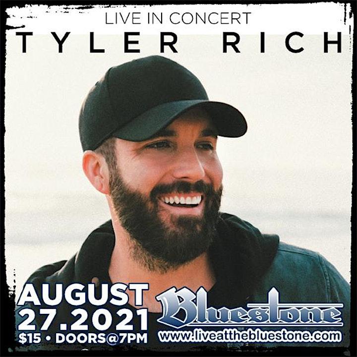 Tyler Rich in concert Aug 27,  2021 Columbus, Ohio image