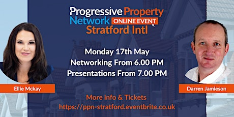 PPN Stratford Online Networking 17th May tickets