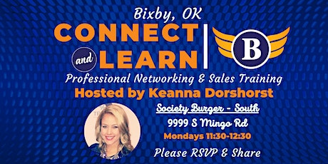 OK | Bixby Networking & Sales Training Luncheon tickets