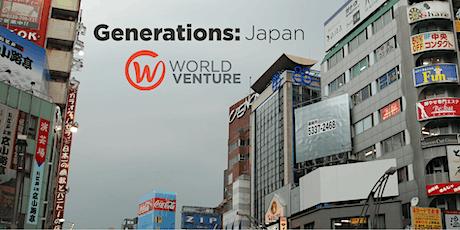 Generations: Japan tickets
