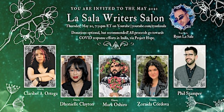 The La Sala Writers Salon presents: May Day! May Day! on 5/20 @ 7:30 ET tickets