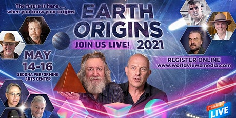 Earth Origins 2021  Sedona May14-16th, 2021 tickets