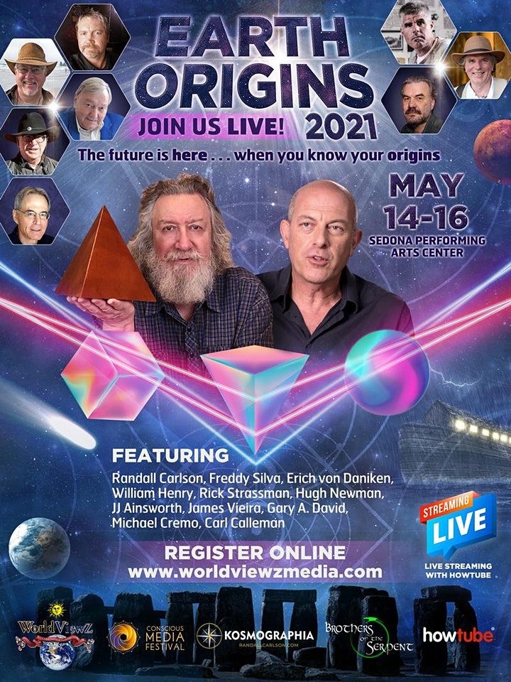 Earth Origins 2021  Sedona May14-16th, 2021 image