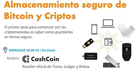 Almacenamiento seguro de Bitcoin y Criptos entradas