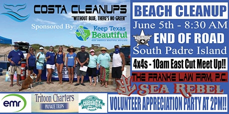OCEAN DAY BEACH CLEANUP - GO BY BOAT TO PORT MANSFIELD EAST CUT tickets