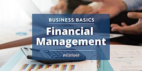 Business  Basics: Financial Management tickets