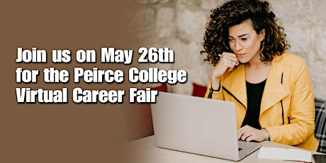 Register for the Peirce College Spring Virtual Career Fair tickets
