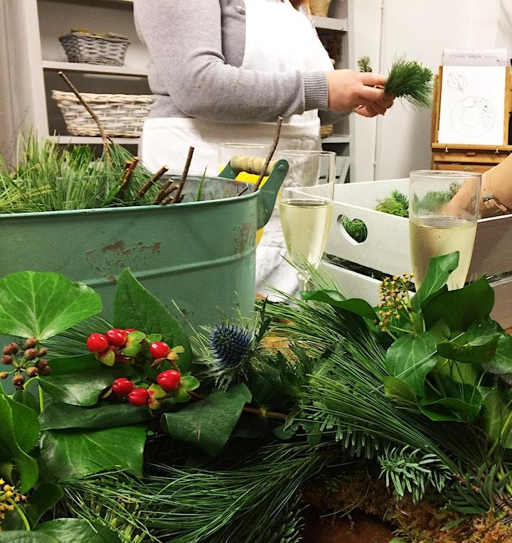 Autumnal Moss Based Wreath image