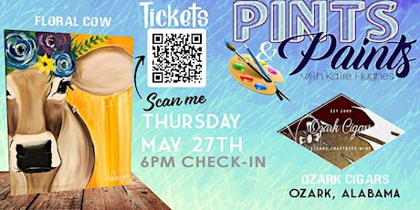 Pints & Paints at Ozark Cigars tickets