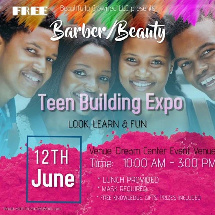 Beauty/Barber Teen Building Expo image