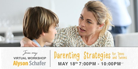 Parenting Strategies for Teens and Tweens tickets