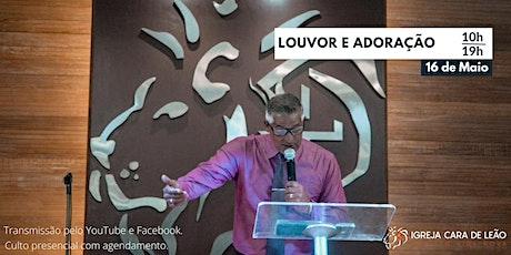Culto Louvor e Adoração ingressos