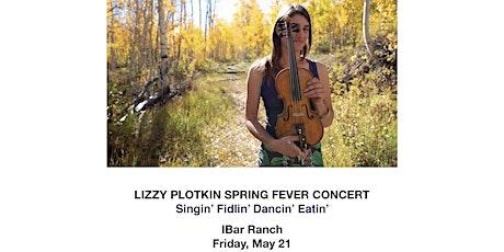 Lizzy Plotkin Spring Fever Concert tickets