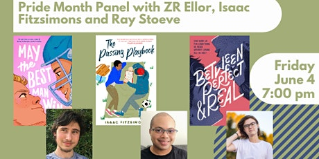 Pride Month Event with Authors ZR Ellor, Isaac Fitzsimons and Ray Stoeve tickets