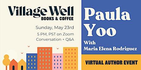 Conversation with author Paula Yoo tickets