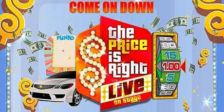 The Price is Right Live!  Guest Host Tyler Bradley tickets