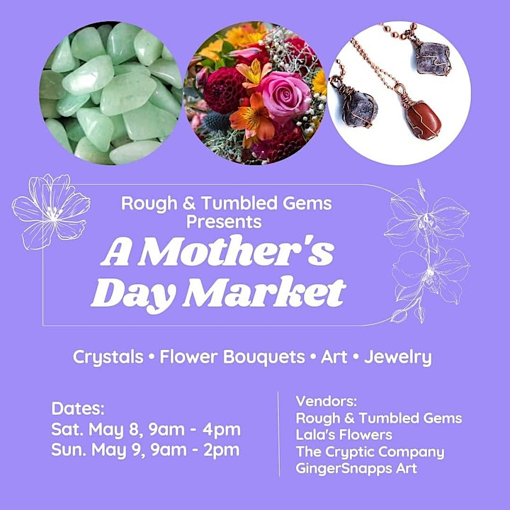 Mother's Day Weekend Crystal Sale & Artisan Boutique image