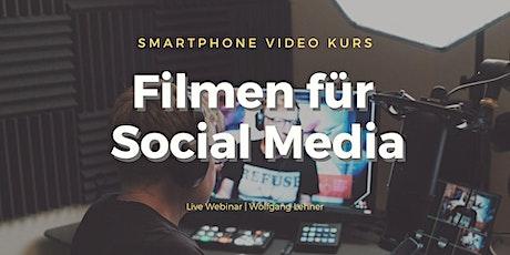 Smartphone Videoskurs - Praxis Webinar Tickets