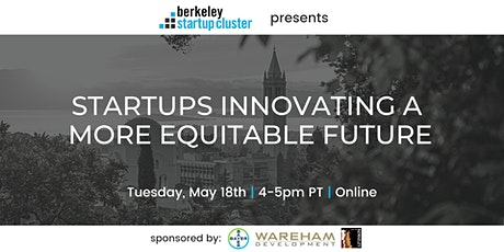 Startups Innovating A More Equitable Future tickets