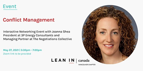 Lean In Vancouver:  Conflict Management | Interactive Networking Event tickets