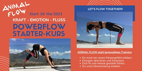 Animal Flow Einsteiger Kurs - Kraft, Emotion, Fluss Tickets