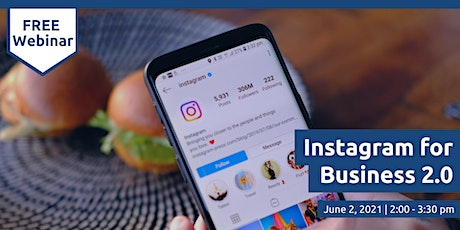 Instagram for Business 2.0 tickets
