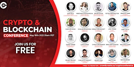 Crypto & Blockchain Global Conference Tickets