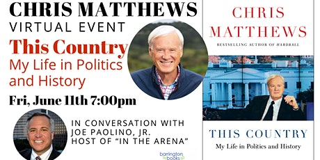 Chris Matthews: This Country: My Life in Politics and History tickets