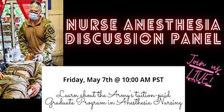 US Army Graduate Program in Anesthesia Nursing (USAGPAN) Panel tickets