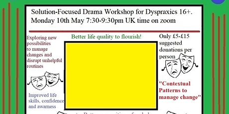 Solution-Focused Drama for Dyspraxics: Contextual patterns to manage change tickets