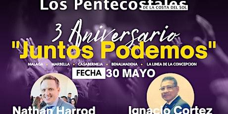 Tercer Aniversario Iglesia Los Pentecostales de la Costa del Sol entradas