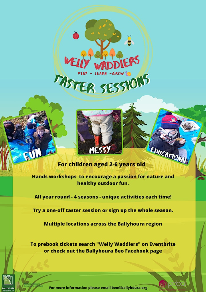 Welly Waddlers - Griston Bog Ballylanders image