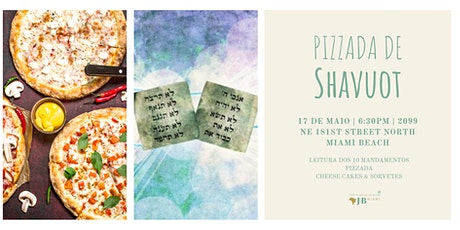 Pizzada de Shavuot tickets