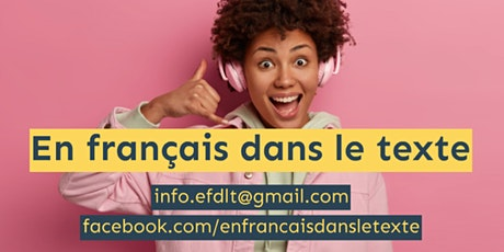 ONLINE FRENCH CONVERSATION CLASSES WITH QUALIFIED NATIVE TEACHER tickets