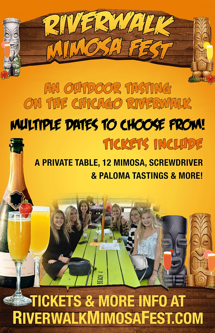 Riverwalk Mimosa Fest - An Outdoor Tasting Experience image