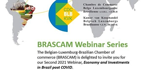 Webinar - Economy and Investment in Brazil's post COVID tickets