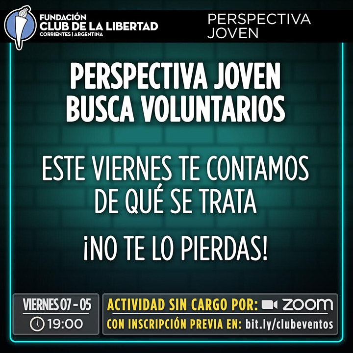 Imagen de CLUB DE LIBERTAD - VOLUNTARIOS - PERSPECTIVA JOVEN