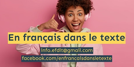 ONLINE FRENCH CLASSES WITH QUALIFIED NATIVE TEACHER tickets