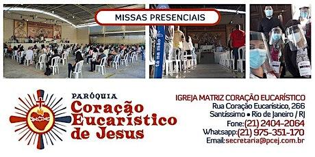 Capela N Sra de Fátima - Santa Missa - 13/05/2021 - 8h E 19h30 ingressos