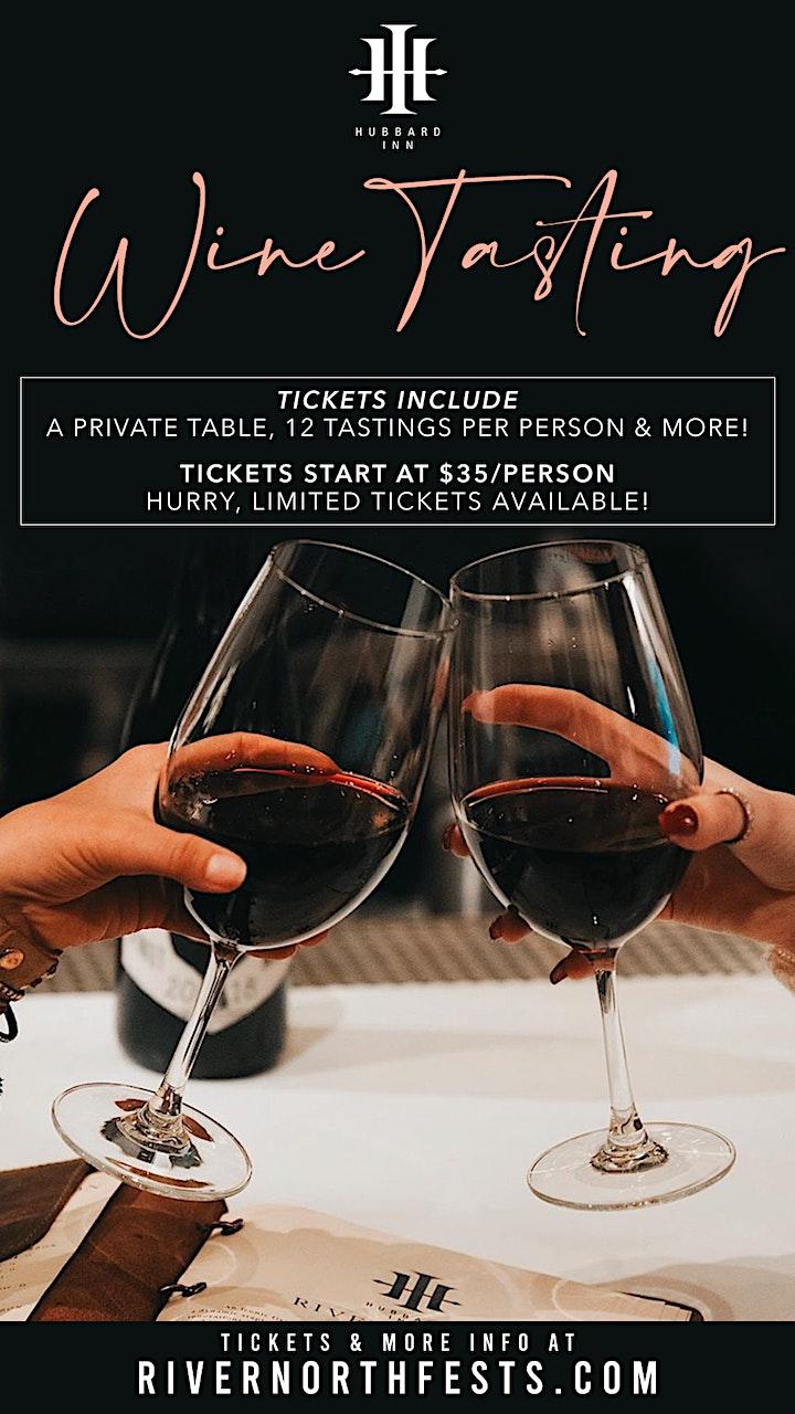 Hubbard Inn Wine Tasting - 12 Tastings Per Person! image