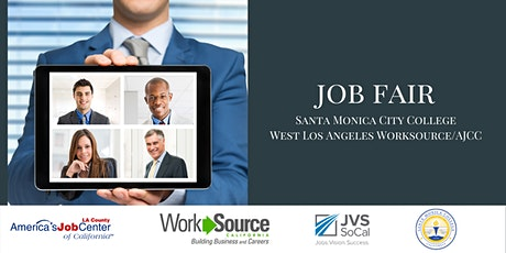 SMC AJCC Job Fair Employer Registration tickets