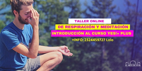 Taller Introductorio de Meditación - Yes+!Plus Online boletos